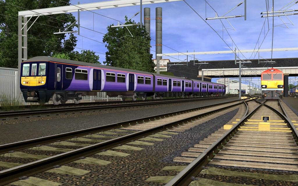 Trainz - Northern unbranded class 319 | skodatrainz | Flickr: https://www.flickr.com/photos/skodatrainz/15769561980/