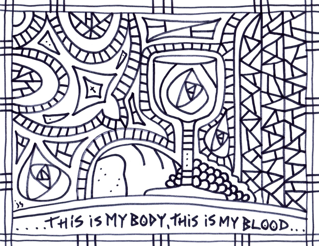 World Communion Coloring Pages