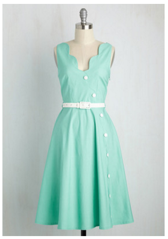 mint dress modcloth