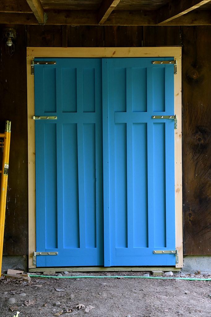 Doors Hung!