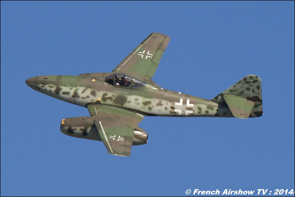 Me 262 Messerschmitt D-IMTT 501244 AIR14 Payerne 2014 Canon Sigma France contemporary lens