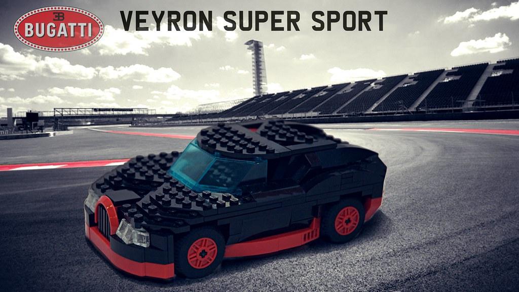 lego bugatti veyron super sport side whilst digging throug flickr. Black Bedroom Furniture Sets. Home Design Ideas
