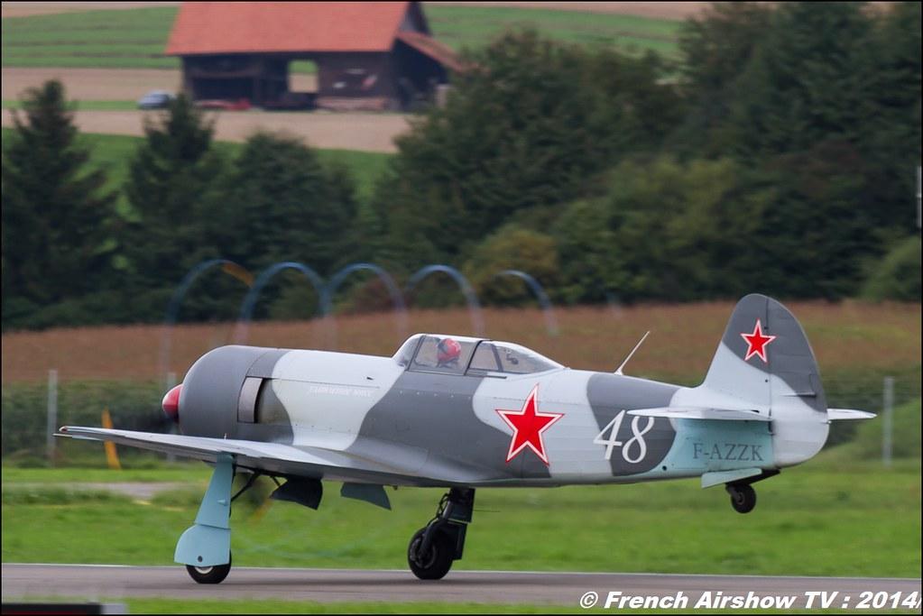 YAK F-AZZK, AIR14 Payerne , suisse , weekend 1 , AIR14 airshow , meeting aerien 2014 , Airshow
