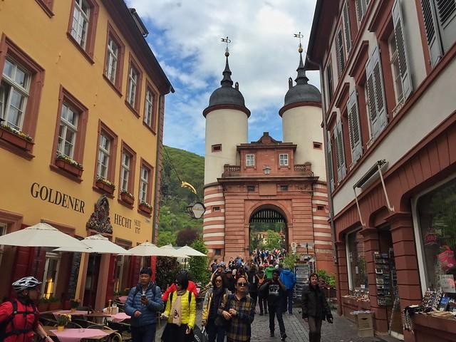Torre del puente de Heidelberg