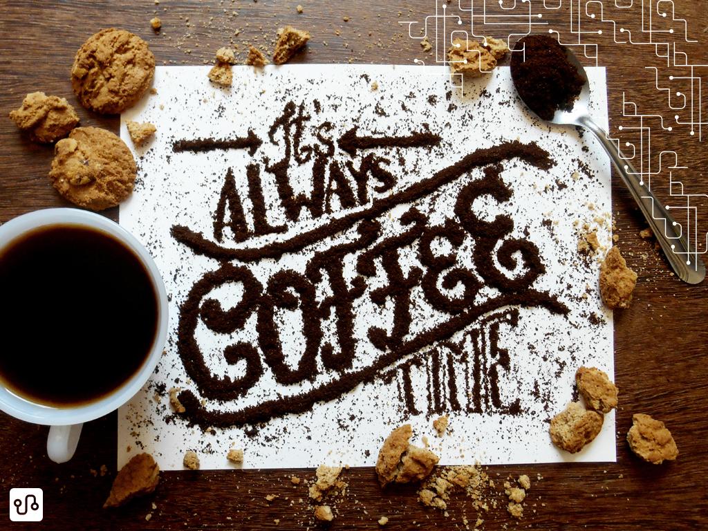 Também vou manter minha saudável dieta de três xícaras de café ao dia e refeições corridas de dez minutos na frente do Photoshop.
