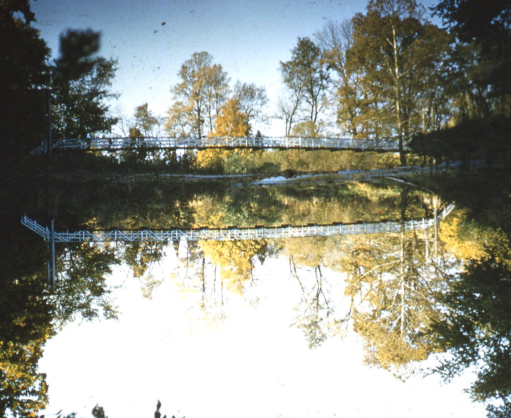 Swinging Bridge Road ~ 1954