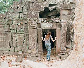 Me in Angkor with Pants