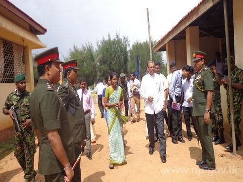 Mobile Medical Camp held at Vidiyananda College, Mulliyawalai -17 November 2014.