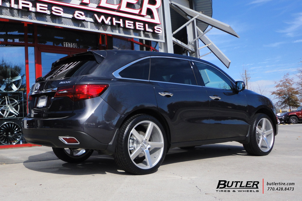 2015 Acura Mdx With 22in Niche Milan Wheels Additional