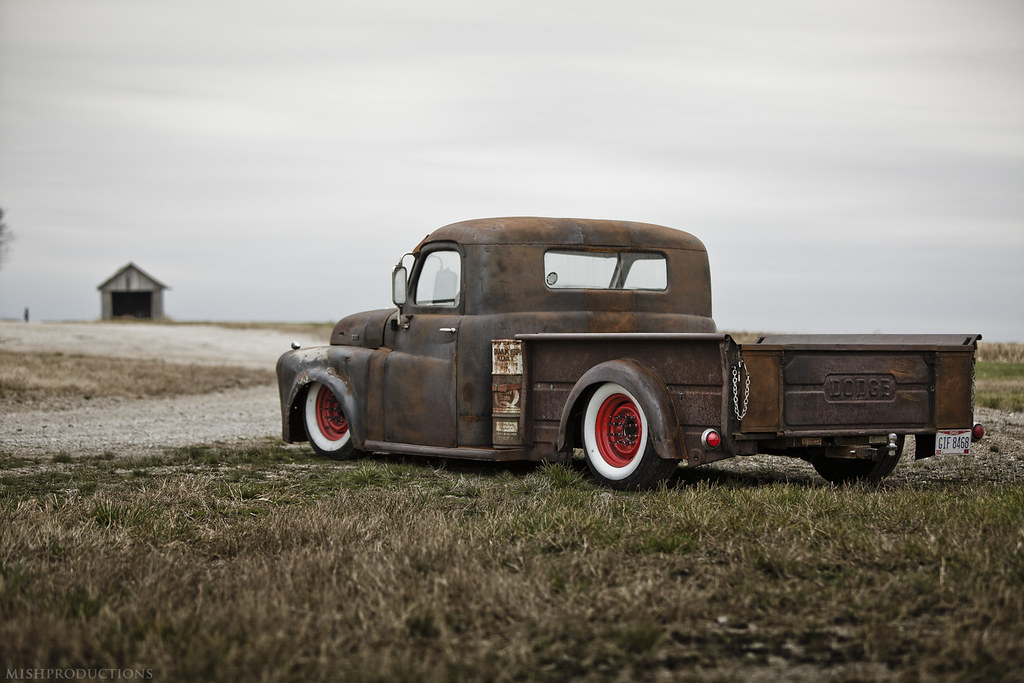Cummins Turbo Diesel >> 1950 Dodge Truck Rat Rod | 12v Cummins Turbo Diesel | Flickr
