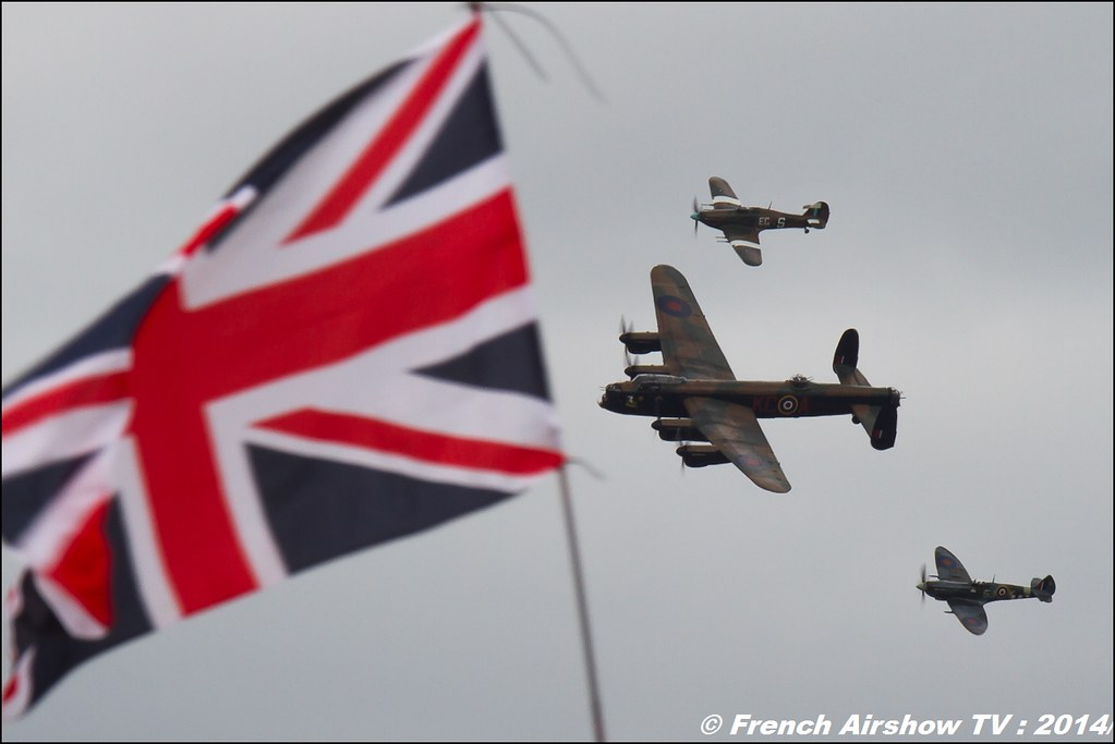 Avro Lancaster , RIAT , Fairford , Royal International Air Tattoo 2014 , Meeting Aerien Air Tattoo , Meeting Aerien 2014