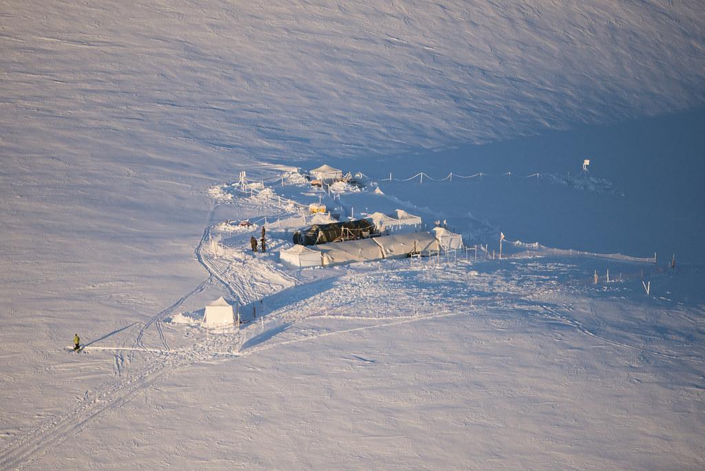 Σταθμός Tête Blanche, 3650 m
