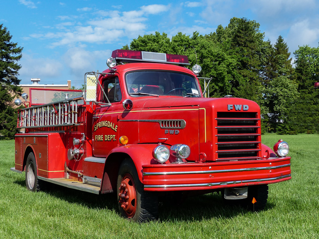 Seagrave Fire Apparatus >> Springdale Fire Department's 1961 FWD Pumper | This is one ...