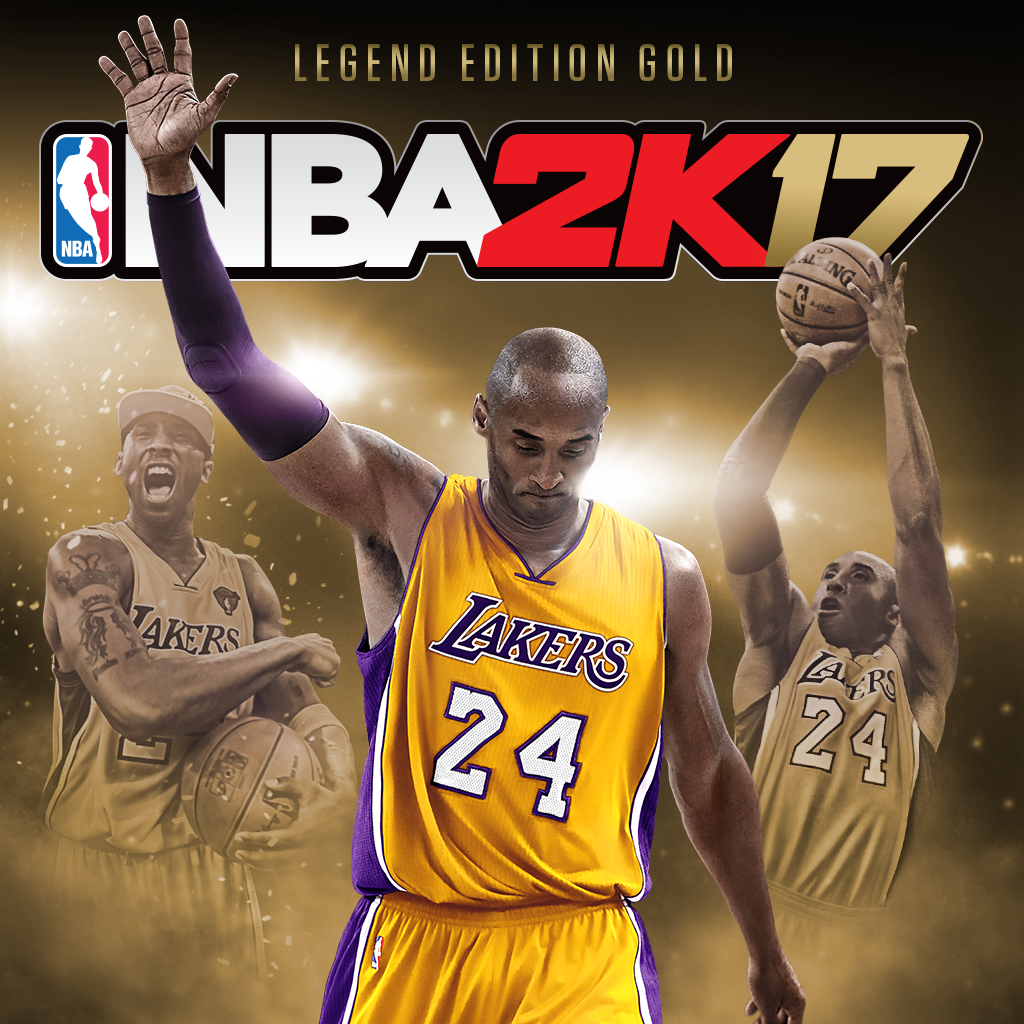 NBA 2K17 Kobe Bryant Legend Edition Gold