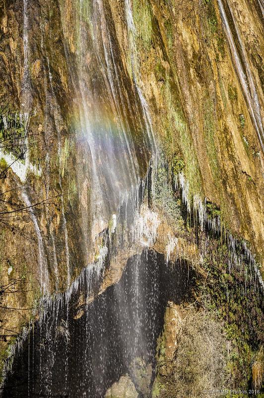 Un arcoiris en el Salt del Mir.