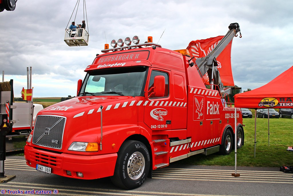 Volvo Nh12 Sydjouren Heavy Wrecker Volvo Nh12 Heavy