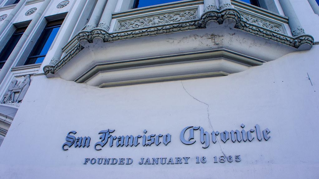 San Francisco Chronicle SF Ca | dog97209 | Flickr
