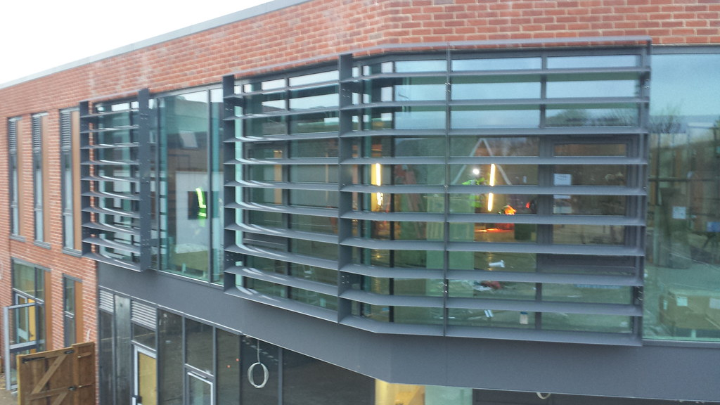 Vertical Solar Shading Systems Curtain Walling