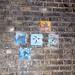 Mosaics Under Rail Bridge on Waterloo Road