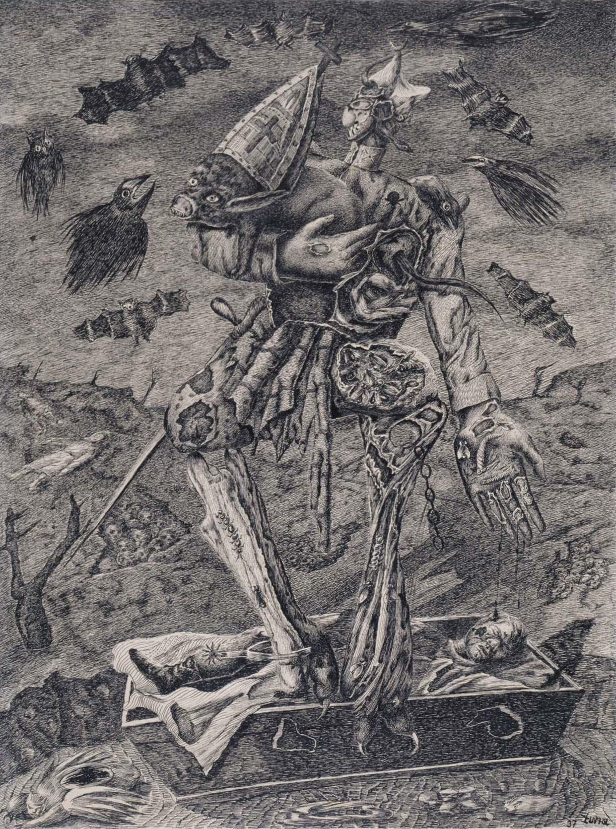 Antonio Rodríguez Luna - The Dictator, 1937