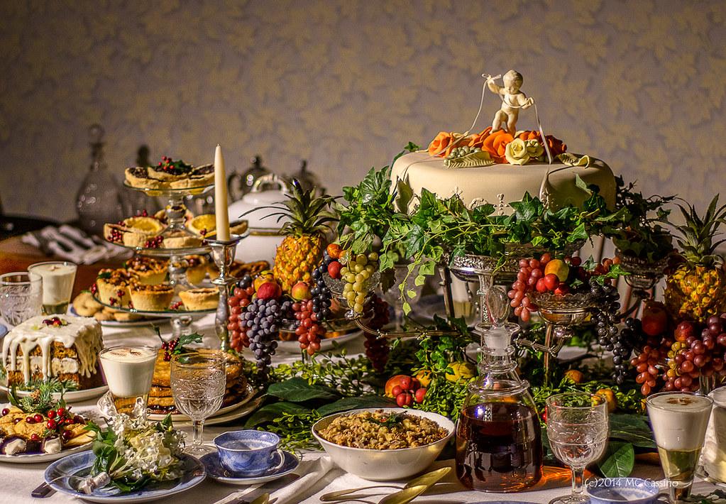 18th Century Wedding Feast Last Night We Had Our Second