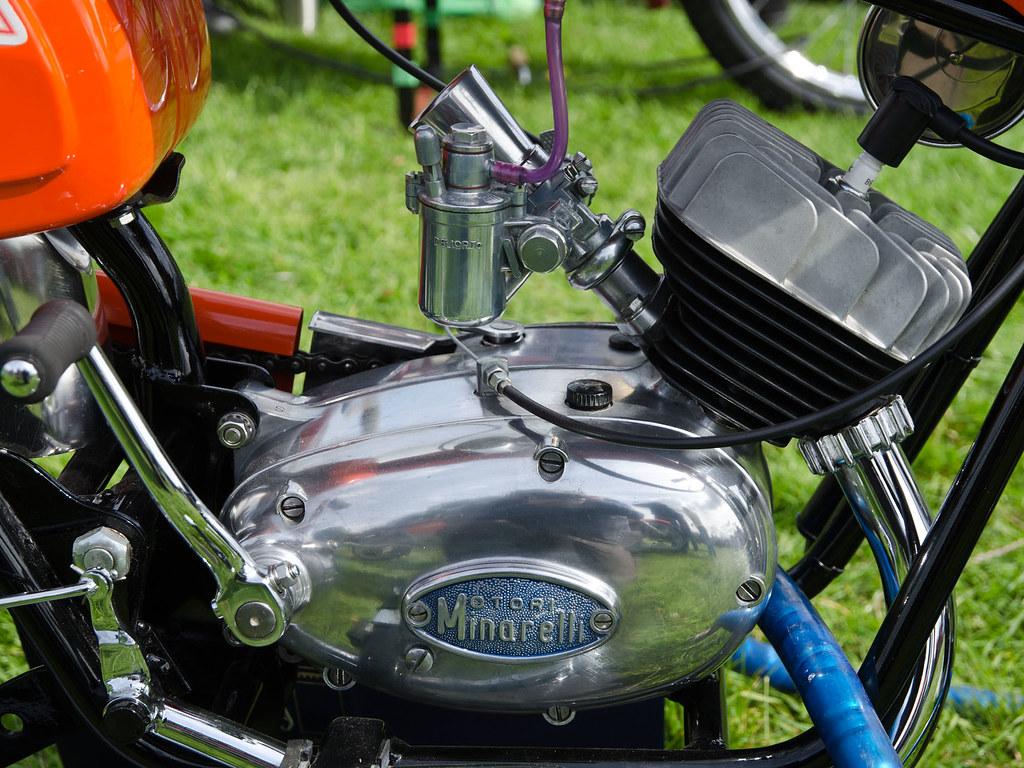 Engine Moto Minarelli 50cc Super Sport 1969