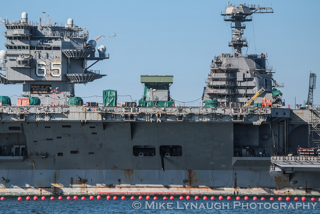 Cvn 65 Enterprise And Cvn 78 Gerald Ford During My Last Tr Flickr