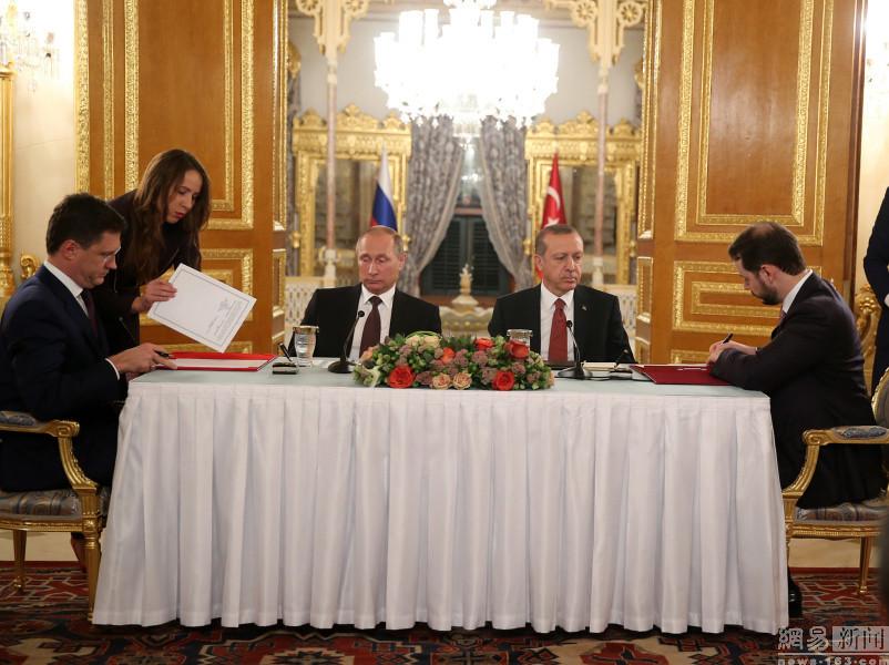 Russian President Vladimir Putin visited Turkey and met President