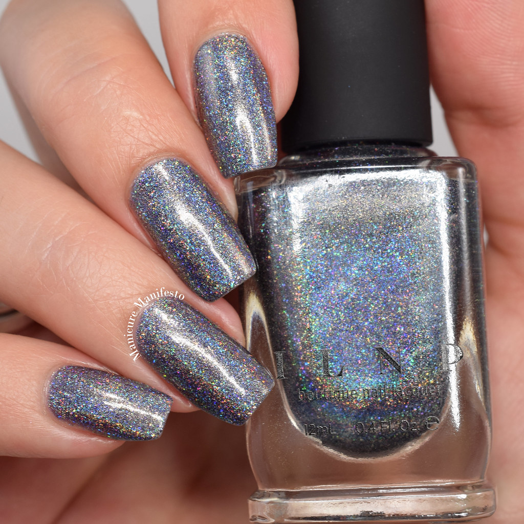 Charcoal holo swatch