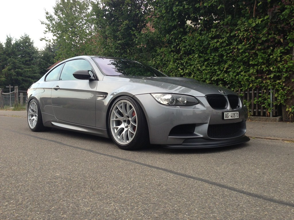 E92 M3 With 18 Quot Ec 7 Bmw E92 M3 In Space Gray With Our
