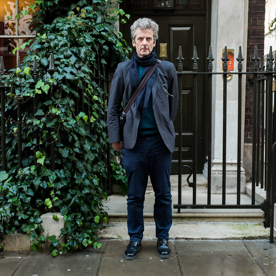 Peter Capaldi Actor And Current Dr Who Soho London