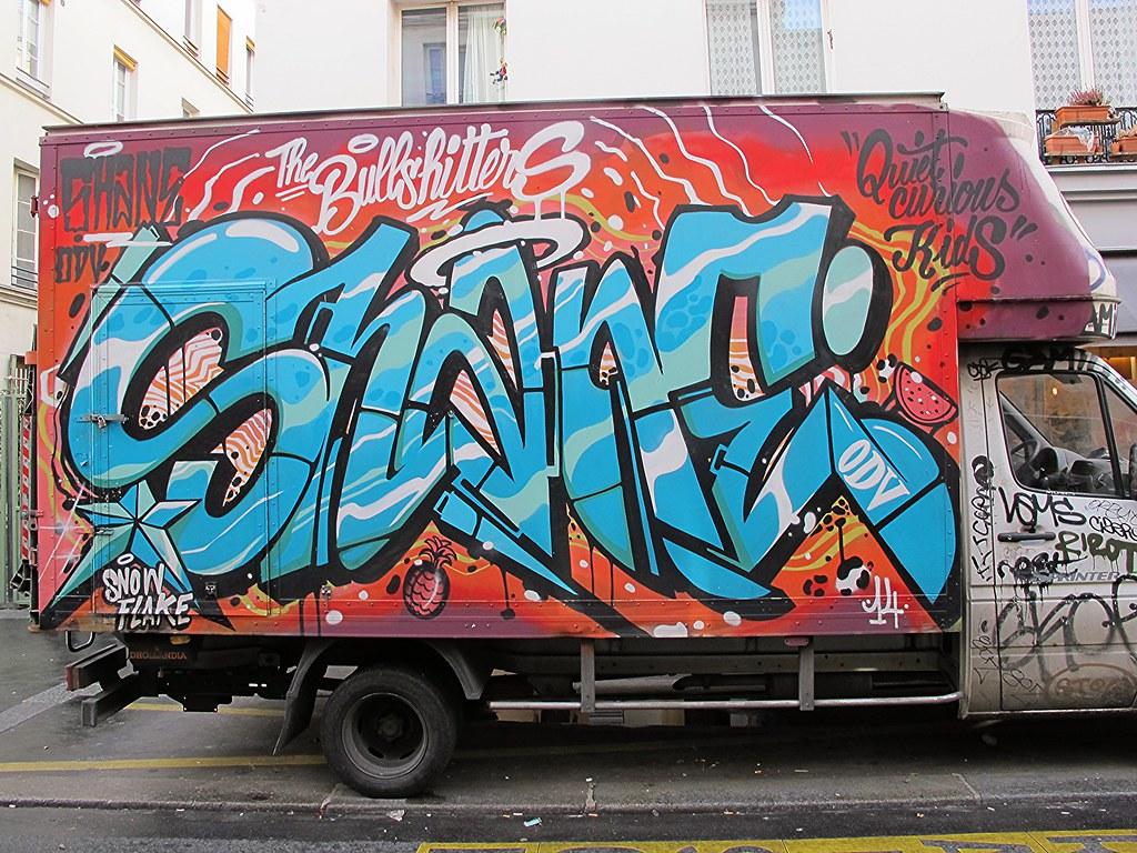 SHANE   PARIS 11ème - janvier 2015   Brin d'Amour   Flickr