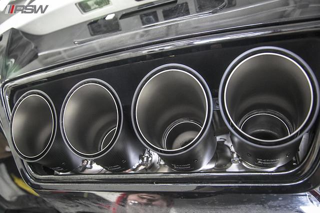 Akrapovic Exhaust Upgrade C7 Z06 Hennessey Corvette