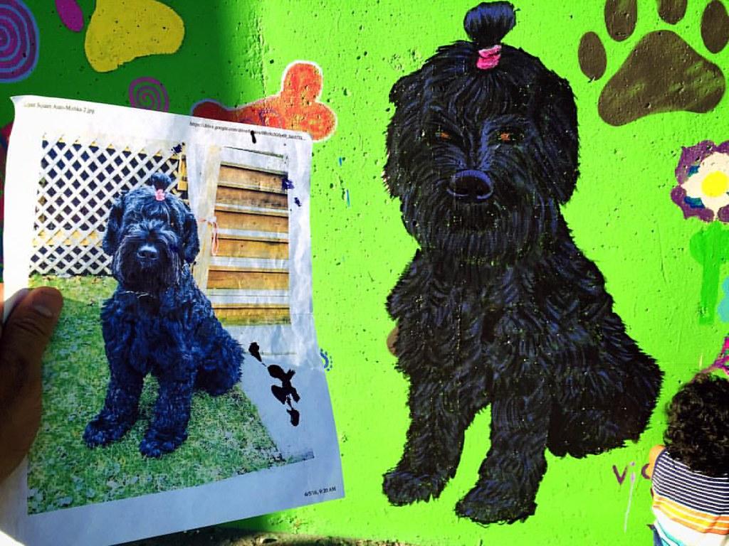 Spray Paint Dog House