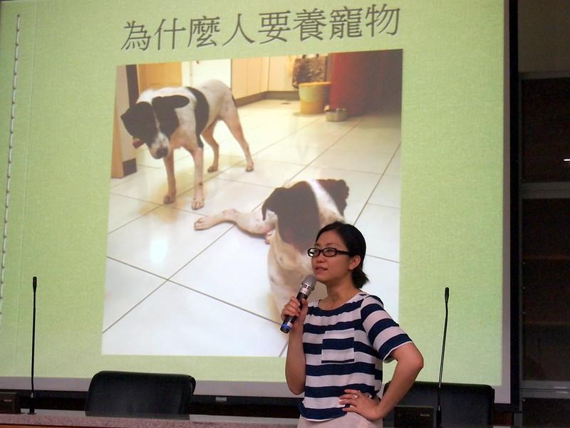 十二夜導演Raye希望人們好好思考為何自己需要養寵物。攝影:李育琴