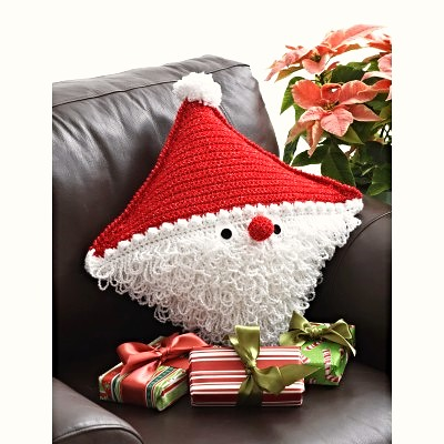 Free Knitting Patterns Christmas Pillows : Christmas Pillows!! Free Crochet Patterns, Inspiration, and of course some di...