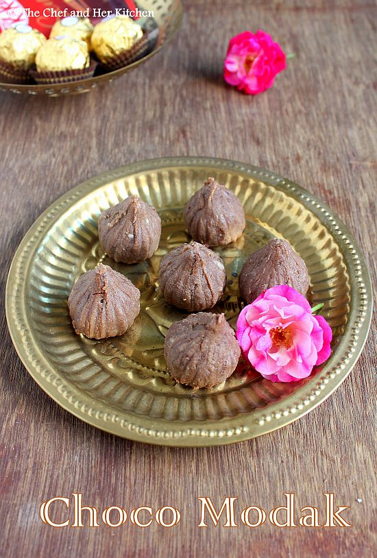 chocolate modak