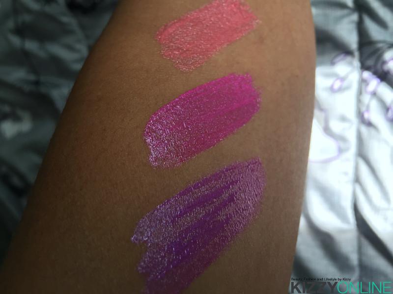 Wet N Wild Metallic Liquid Lipstick Milani Amore Mattallics