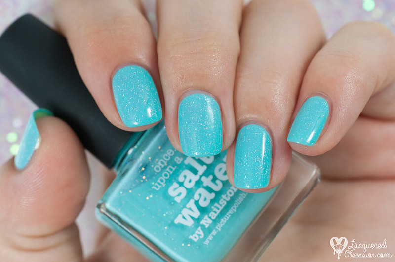 piCture pOlish - Salt Water + nail art