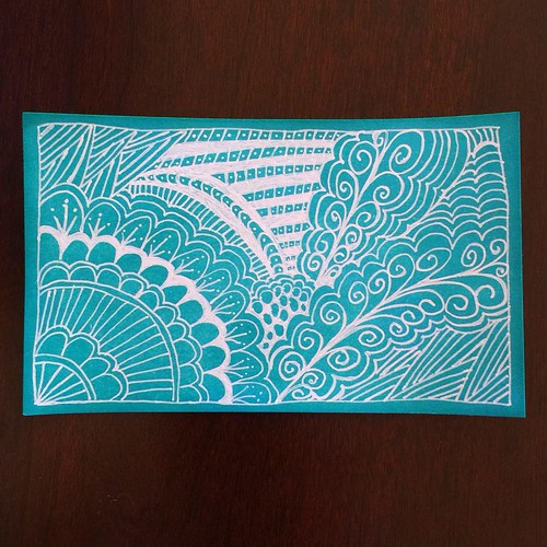 Just a little doodle for Index card no. 1