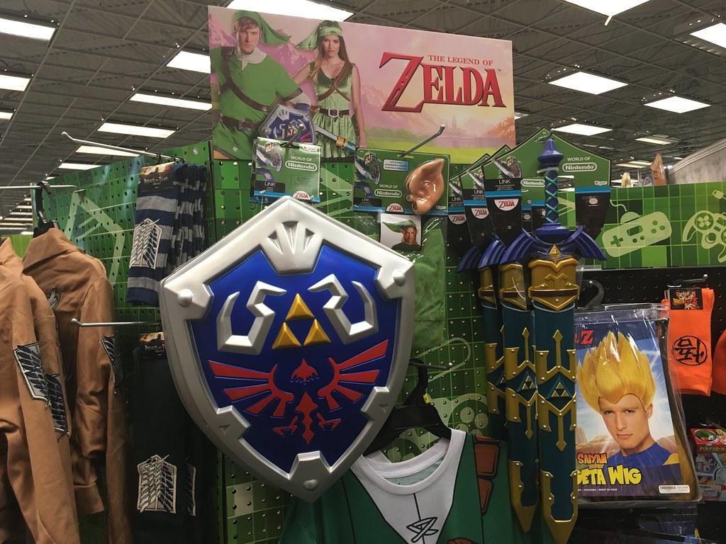Legend of Zelda, Link Halloween Costumes, Spirit Halloween