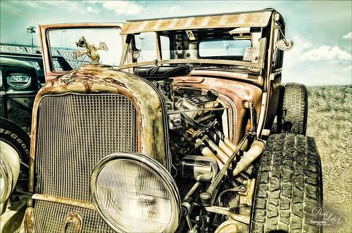 Image of a vintage car