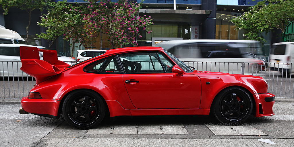 porsche 964 turbo 3 3 hong kong i think the red makes i flickr. Black Bedroom Furniture Sets. Home Design Ideas