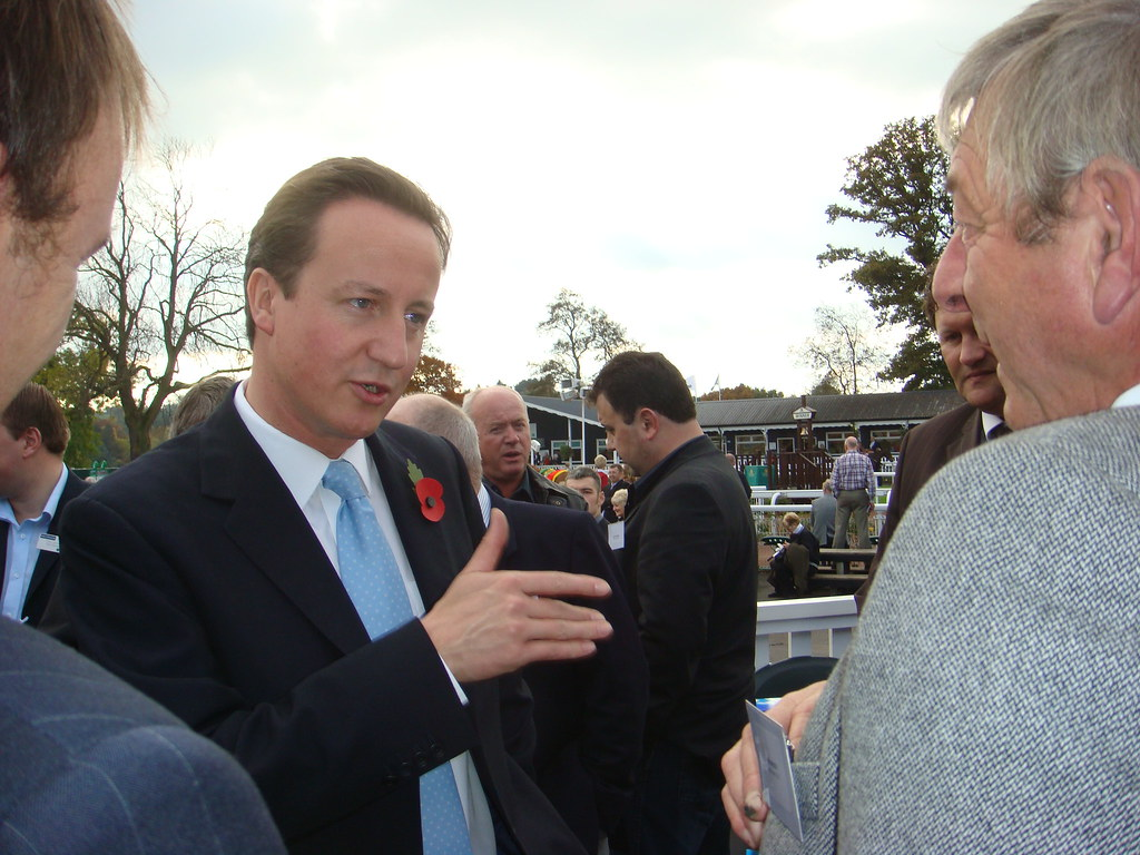 Uttoxeter races with the Rt. Hon. David Cameron MP