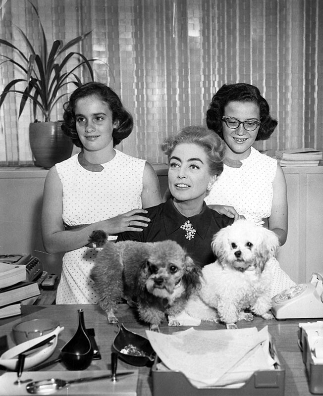 Joan Crawford And Her Twins Patricksmercy Flickr