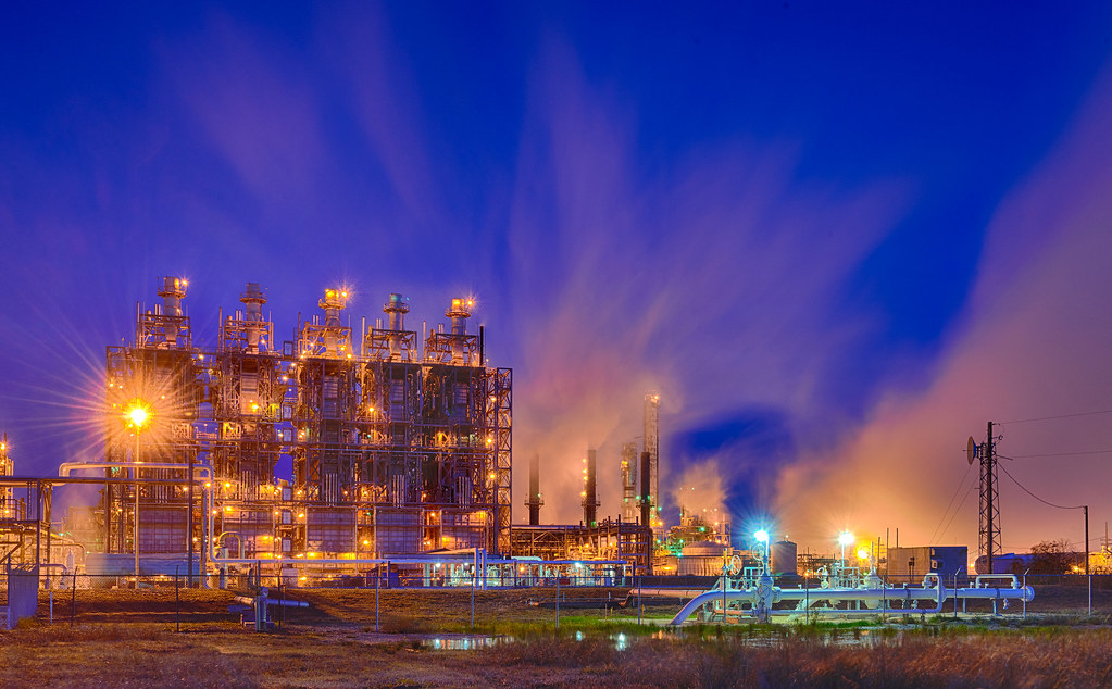 Ineos Chocolate Bayou Plant At Morning Blue Hour Ineos Cho Flickr