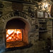 Fireplace in the tavern