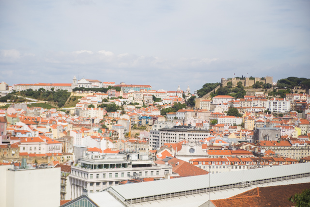 Some of the colourful buildings and architecture you'll find in Lisbon, Portugal