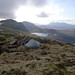 Wild camping on the shoulder of Beinn Liath Mhor Fannaich