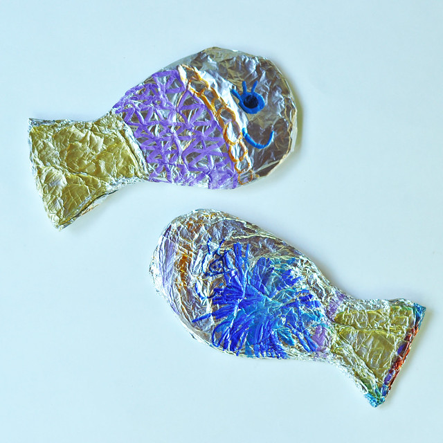 Foil Crafts for Kids